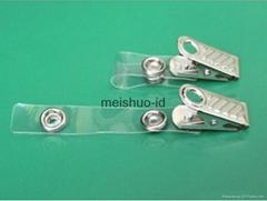 Bulldog Badge Clip w/PVC