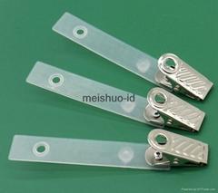 Badge Clip w/PE Strap