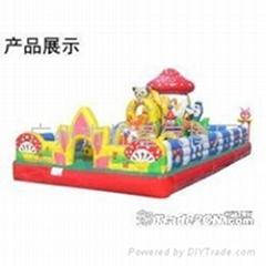 廣州充氣玩具 充氣儿童樂園出租 充氣滑梯租賃