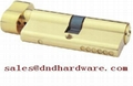 Stainless steel door handle fire rated lock BE EN 1906