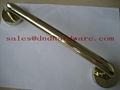 Stainless steel pull handle fire rated lock 2