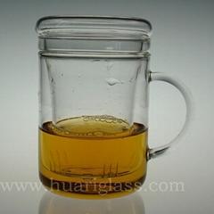 玻璃三件杯