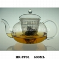 Glass Teapot With PC Filter