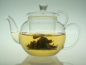 Glass Teapot With Glass Lid & Glass Filter
