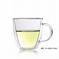 Double Wall Glass Cup 1
