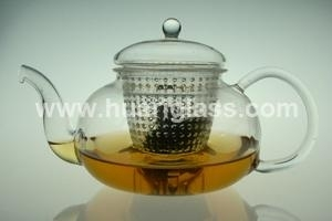 Glass Teapot With Glass Lid & PC Filter