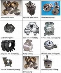 Cast iron pump, underwater pump, submersible pump, hydraulic pump, slurry pump