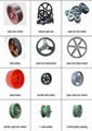 cast iron wheel, belt pulley, fly wheel,