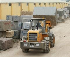 25Tons stone block forklift loader