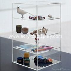 acrylic floor display