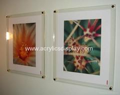 acrylic poster kits wall frame