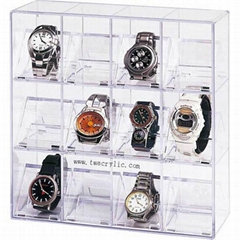 perspex watch stand
