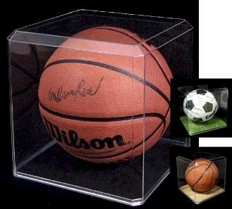 acrylic display case - Basketball Display Case