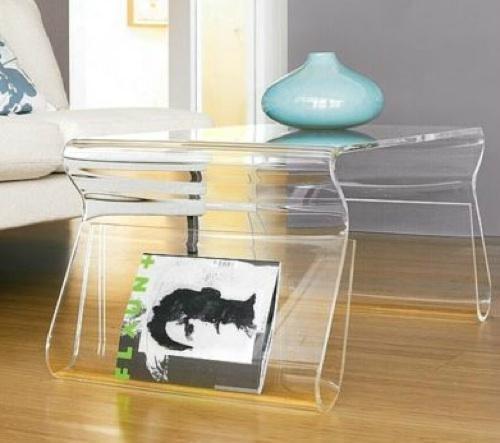 acrylic household shelf