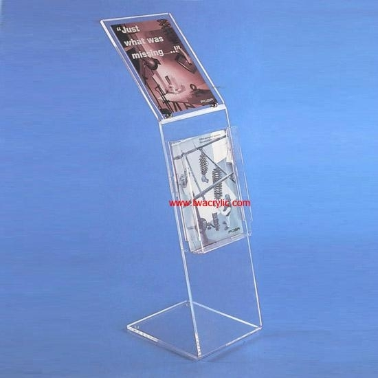 acrylic sign display stands