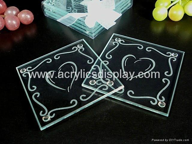 glass coaster