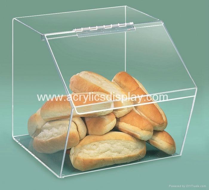acrylic bread box