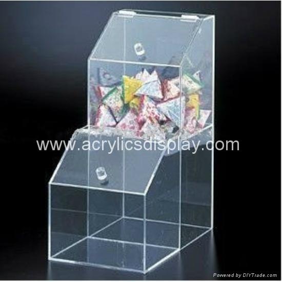 clear acrylic candy box