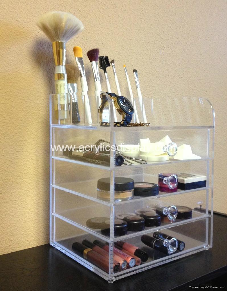acrylic cosmetics organizer cosmetic case cosmetic box