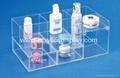 acrylic skin care organizer cosmetic