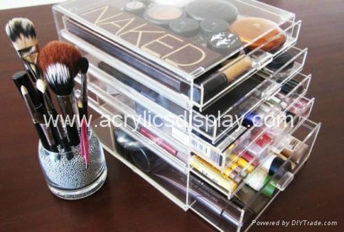 acrylic makeup organizer makeup box
