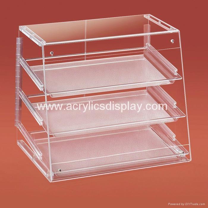 Acrylic Bakery Display Case Ads 02 Tw China
