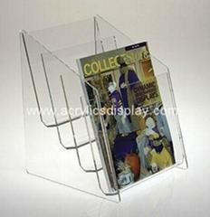 acrylic literature display