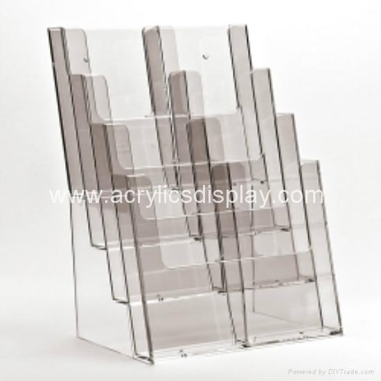 perspex literature display