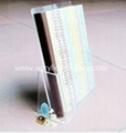 acrylic pamphlet display