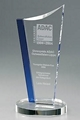 plastic acrylic glass trophy