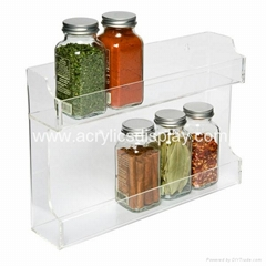 plastic display stands for spice
