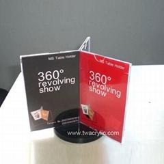 acrylic card display stand