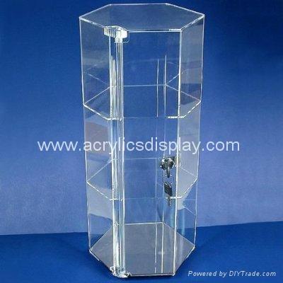 acrylic watch showcase