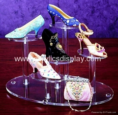 custom acrylic shoes display stand