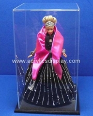 acrylic doll display cases