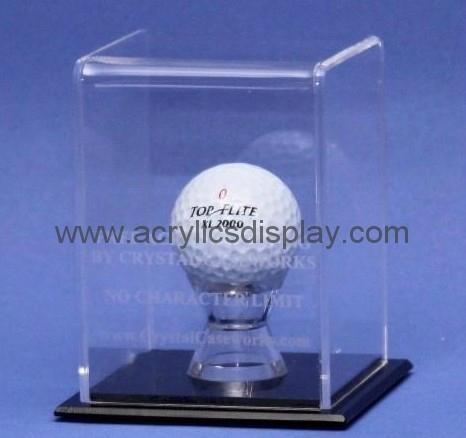 acrylic golf ball display case golf ball display case