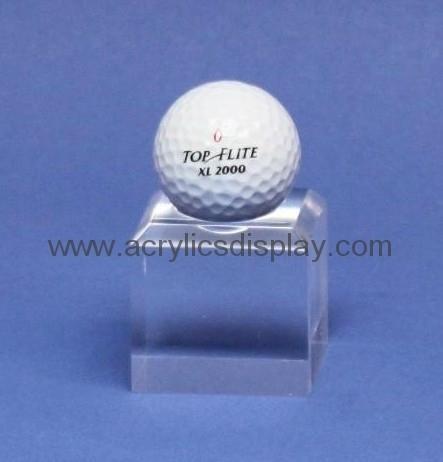 acrylic golf ball display case golf ball display box