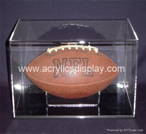 acrylic rugby ball  cases
