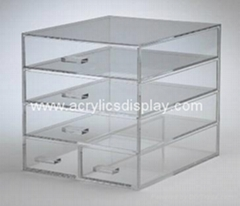clear custom  acrylic makeup organizer (Hot Product - 1*)