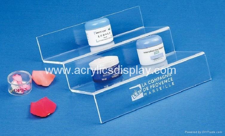 acrylic skin care organizer
