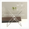 mini lucite end tables acrylic tables