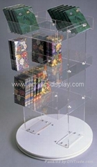 acrylic display spinners