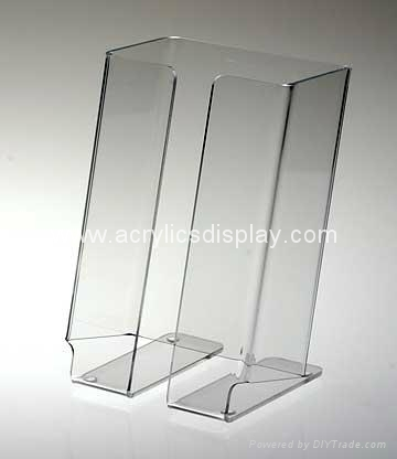 acrylic booklet display holder