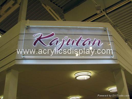 LED acrylic display board