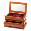 wooden jewelry box watch box