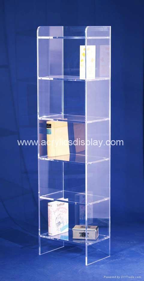 Acrylic Book Shelf China Manufacturer Acrylic