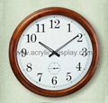 wooden wall clocks