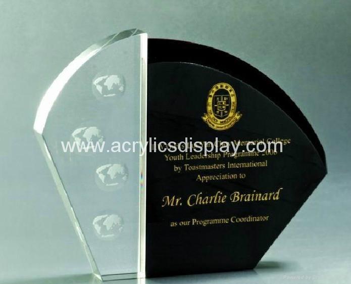 crystal trophy star trophy
