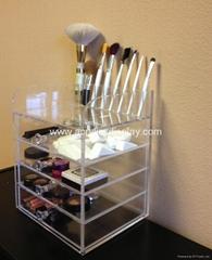 acrylic cosmetics organizer cosmetic box