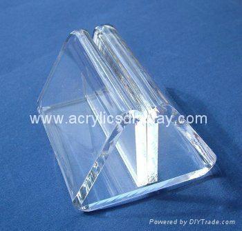 high quality acrylic card holder